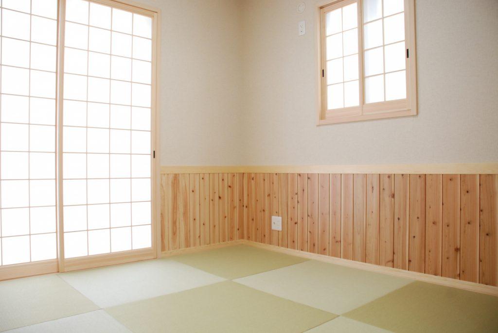 【相生市 注文住宅】<br>和モダンなウッドパネルのある家
