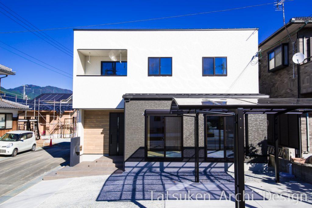 【宍粟市 注文住宅 33坪】<br>家事動線を考えた、おしゃれで暮らしやすい家