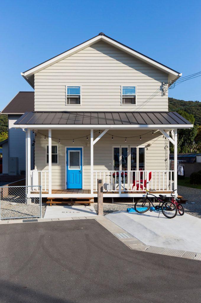 【赤穂市 注文住宅 27坪】<br>西海岸カリフォルニアスタイルのお家