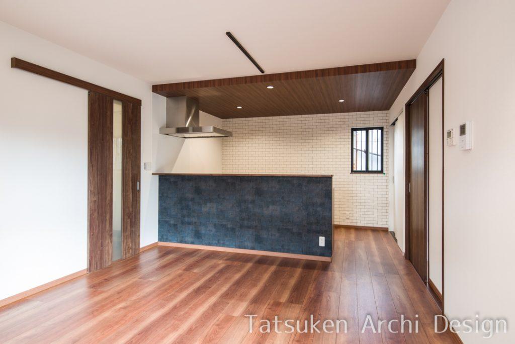 【姫路市 注文住宅 29坪】<br>おしゃれBARのようなLDKと物干し空間のあるお家