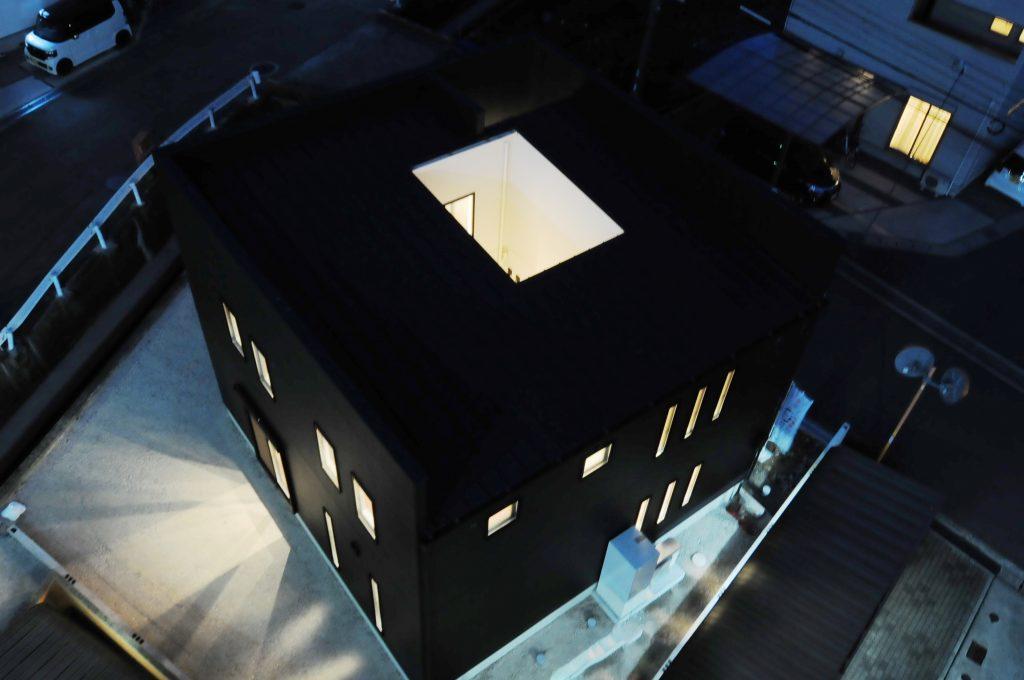 【姫路市 ZERO-CUBE 33坪】<br>ZERO-CUBE KAI シックな中庭のあるお家
