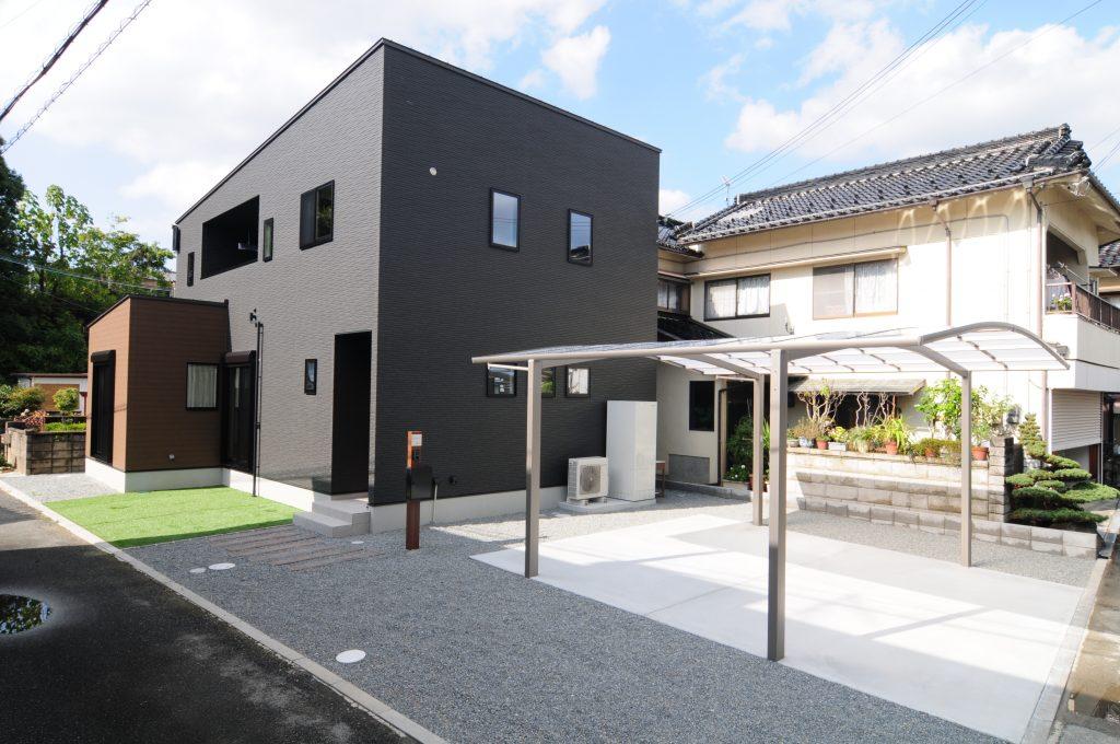 【宍粟市 注文住宅 38坪】<br>ダークトーンで統一されたシックでかっこいいお家