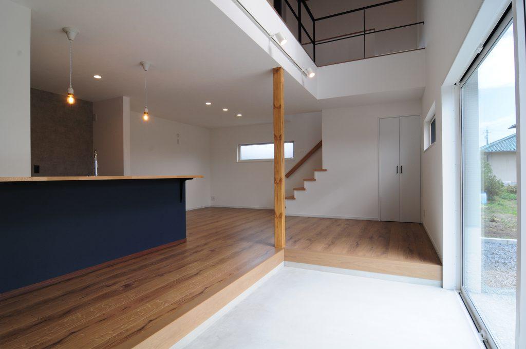【揖保郡 注文住宅 30坪 】<br>外と内をつなぐ土間を楽しむ家